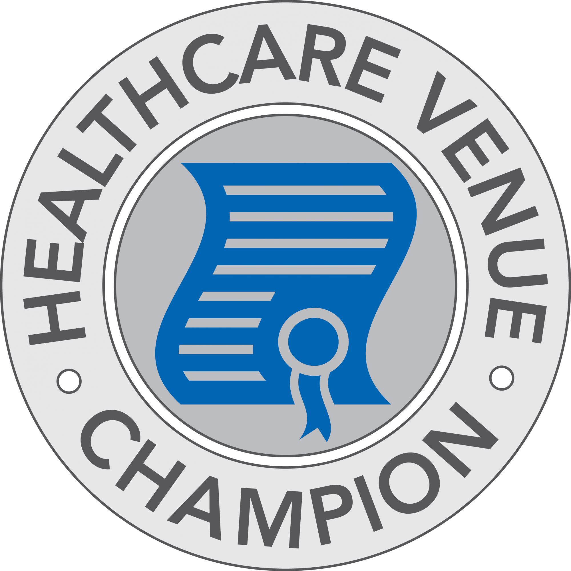 venue healthcare champion stamp png